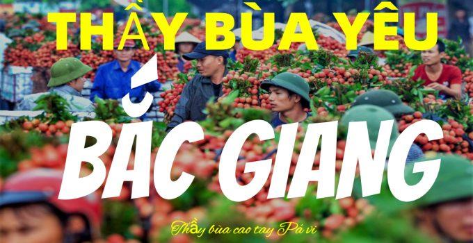 bùa yêu ở Bắc Giang
